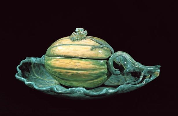 Vegetable dish in the form of a pumpkin, from Sceaux