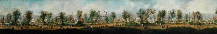 Panoramic View of the Exhibition of 1855