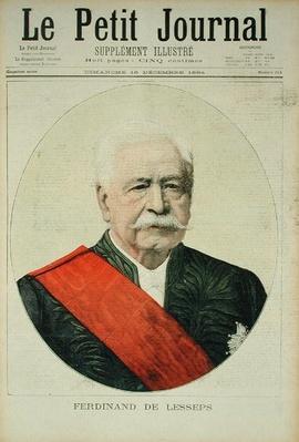 Portrait of Ferdinand Marie de Lesseps