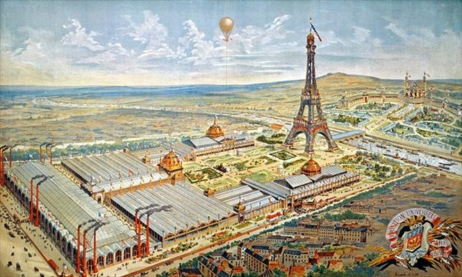 General View of the Universal Exhibition, Paris, 1889