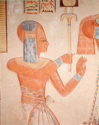 Portrait of the dead prince, from the Tomb of Amen-Her-Khepshef, Ramesside Period