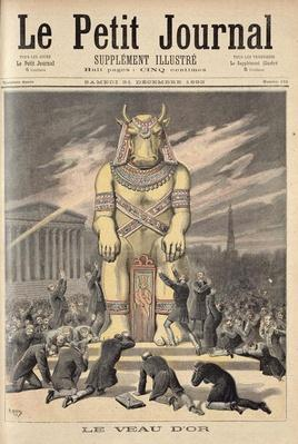 The Golden Calf, from 'Le Petit Journal', 31st December 1892