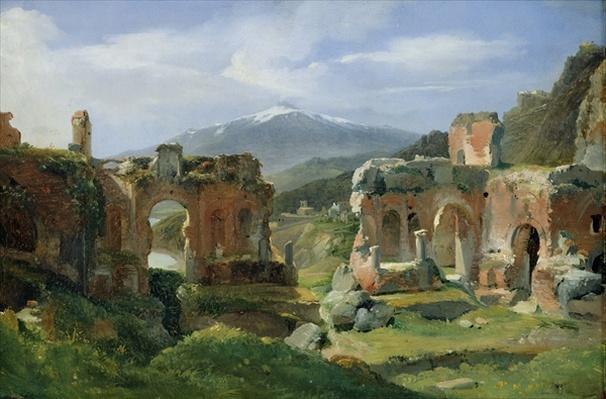 Ruins of the Theatre at Taormina
