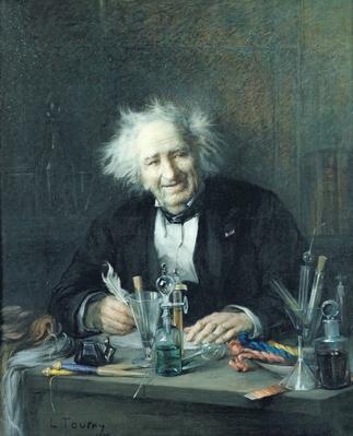 Portrait of Michel-Eugene Chevreul