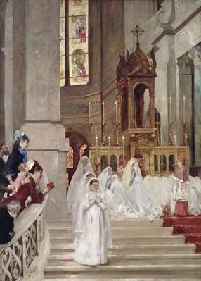 Communion at the Church of the Trinity, 1877
