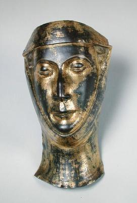 Funerary mask of the wife of Herbert Lanier