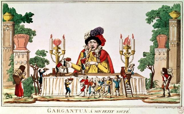 Gargantua at his Little Supper, c.1800