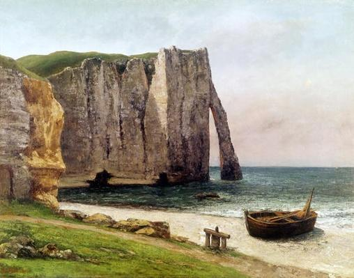 The Cliffs at Etretat, 1869