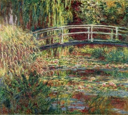 Waterlily Pond: Pink Harmony, 1900