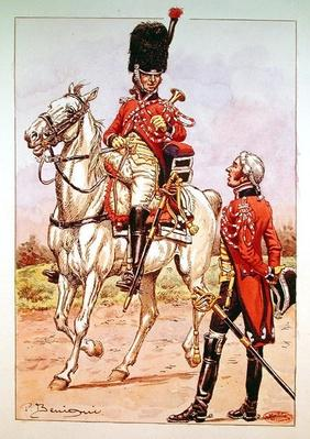 Bugler of the elite cavalry of the Imperial Guard, 1804-06