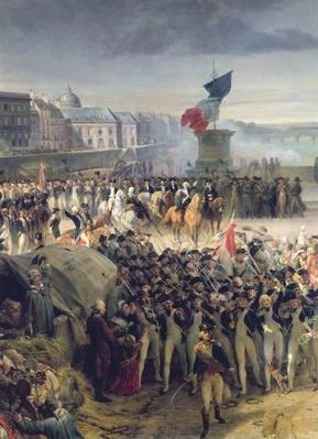 The Garde Nationale de Paris Leaves to Join the Army in September 1792, c.1833-36