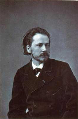 Portrait of Jules Emile Massenet