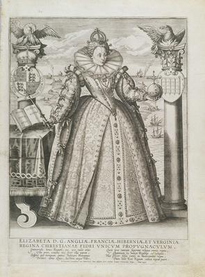 Portrait of Queen Elizabeth