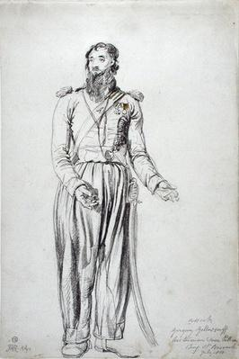 The Cossack, Gregory Yelloserf, July 1814