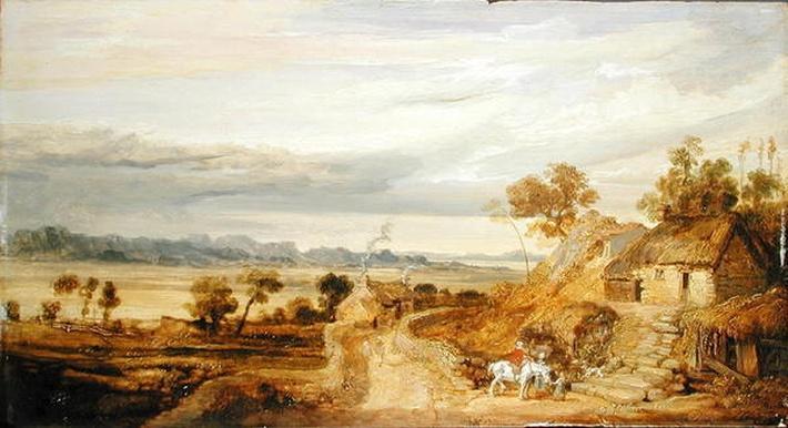 Landscape with Cottages, c.1802-07