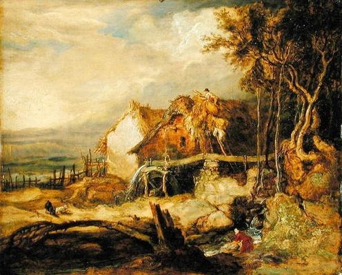 An Overshot Mill, c.1802-07