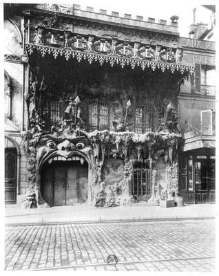 The Cabaret de 'l'Enfer' in Paris, 53 boulevard de Clichy, c.1900