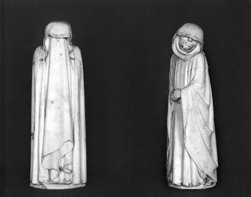 Two Mourners, from the tomb of Duc Jean de Berry