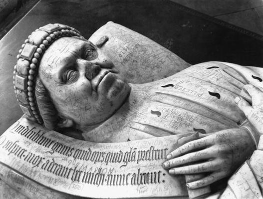 Effigy of Duc Jean de Berry
