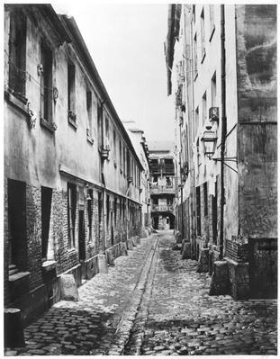 Rue du Fer-a-Moulin, Paris, 1858-78