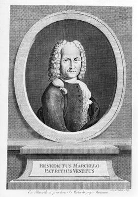 Portrait of Benedetto Marcello