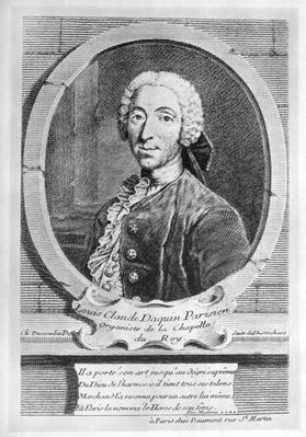 Portrait of Louis-Claude d'Aquin
