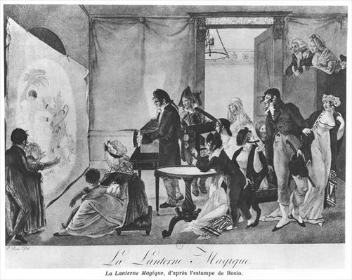 The Magic Lantern, 1798