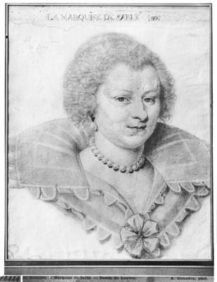 Portrait of Magdeleine de Souvre