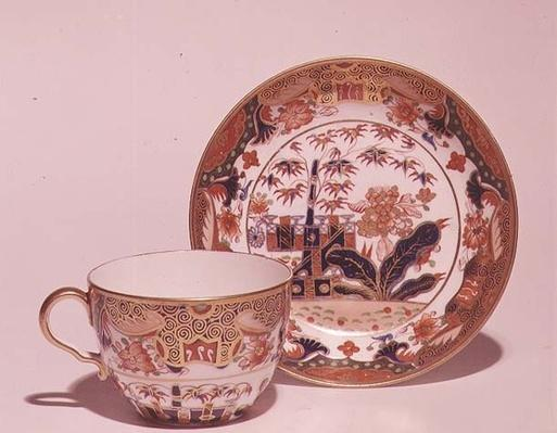 Cup and saucer, c.1815