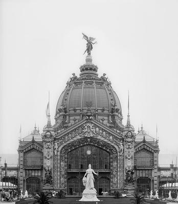 View of the Central Dome, Universal Exhibition, Paris, 1889