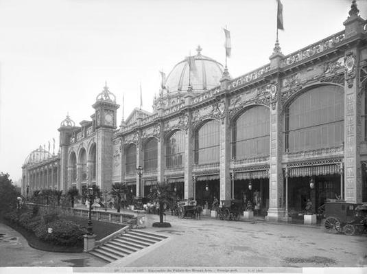 View of the Palais des Beaux-arts, Universal Exhibition, Paris, 1889