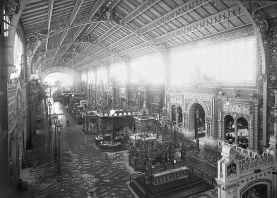 Gallery of the Various Industries, Universal Exhibition, Paris, 1889