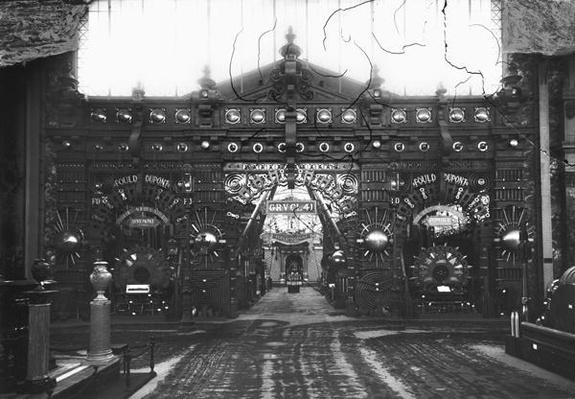Portico of the Metallurgy Pavilion at the Universal Exhibition, Paris, 1889