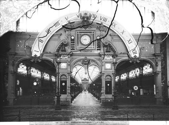 Portico of the Horology Pavilion at the Universal Exhibition, Paris, 1889