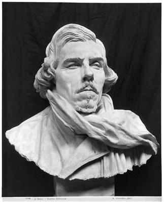 Bust of Eugene Delacroix