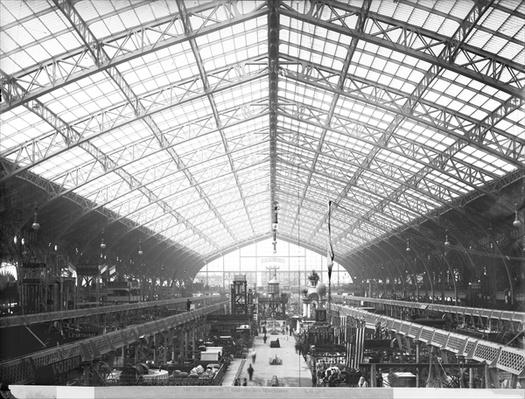 Machinery Hall, Universal Exhibition, Paris, 1889