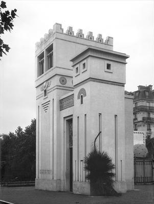 Assyrian House, Universal Exhibition, Paris, 1889