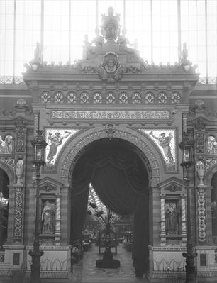 Portico of Ceramics, Universal Exhibition, Paris, 1889