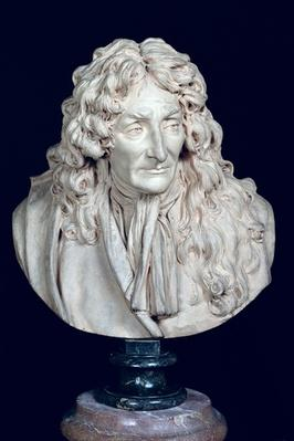 Bust of Jean de La Fontaine