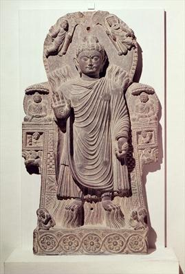 The Buddha of the Great Miracle or, Miracle of Sravasti, from the Paitava monastery, Kapisa School