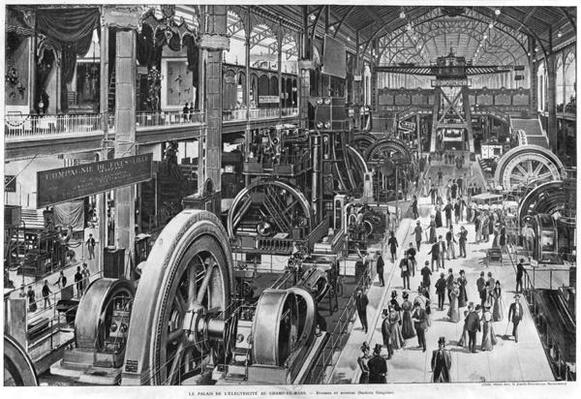 The French Electrical Machinery Gallery at the Universal Exhibition of 1900