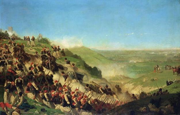 The Battle of Solferino, 24th June 1859