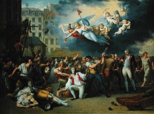 Massacre of the Marquis de Pellepont, 14th July 1789