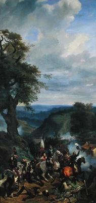 Battle in Argonne, September 1792