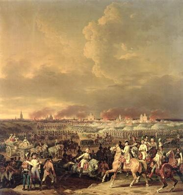 The Siege of Lille by Albert de Saxe-Tachen, 8th October 1792, 1845