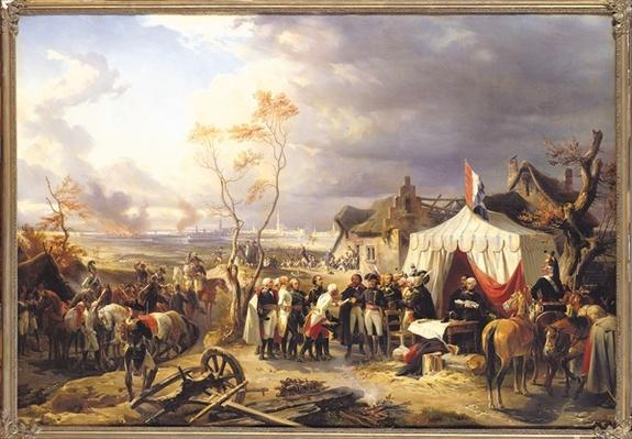 General De La Morliere Receiving the Surrender of Antwerp, 29th November 1792, 1837