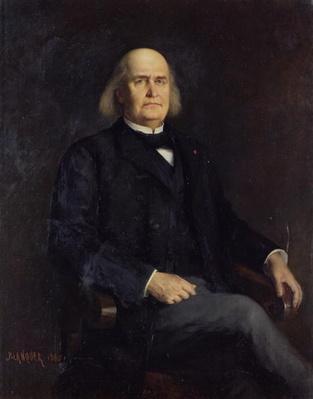 Portrait of Charles Leconte de Lisle
