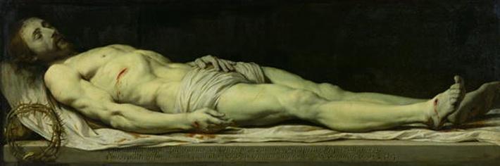 The Dead Christ on his Shroud