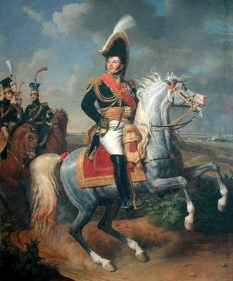 Equestrian Portrait of General Jean Rapp