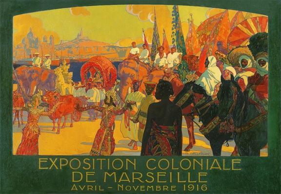 The National Colonial Exhibition, Marseille, April-November 1916, 1922